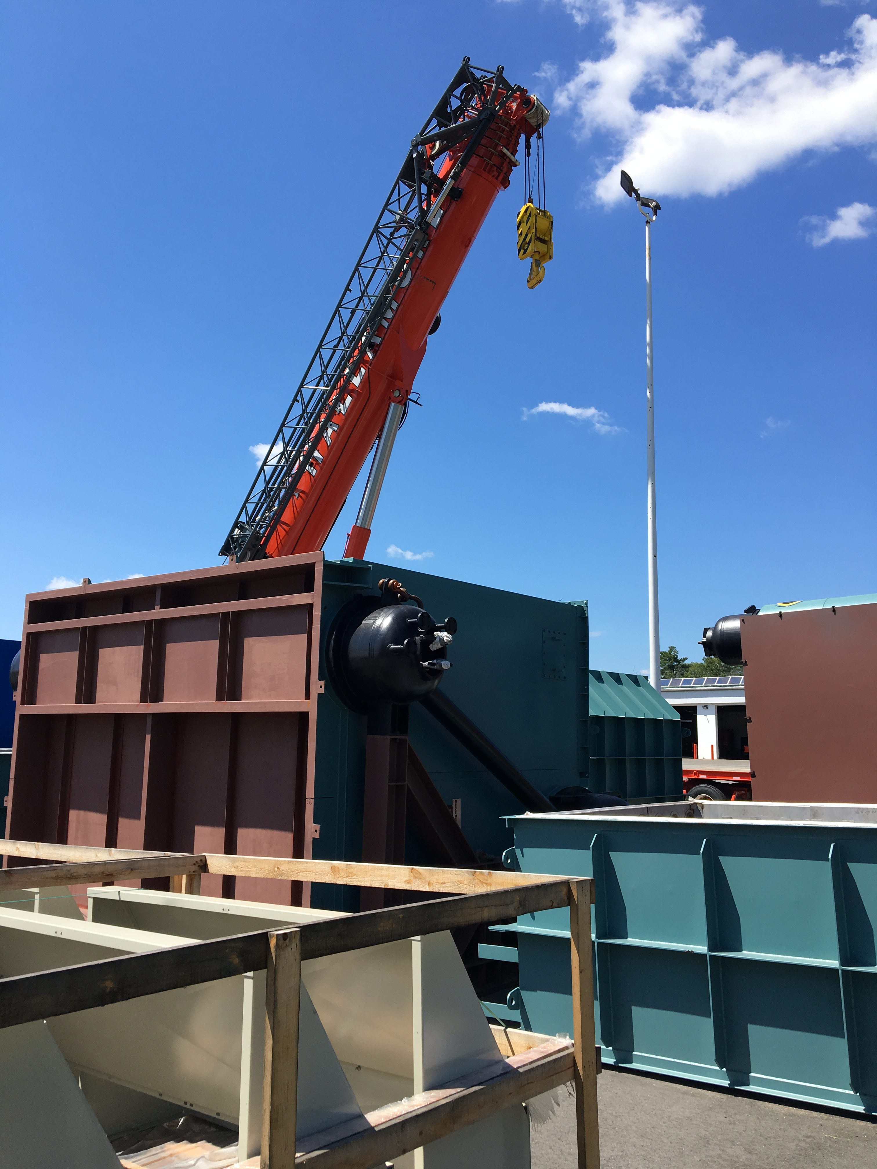 Cleaver Brooks delivers 80 000 PPH HRSG boiler to Boston